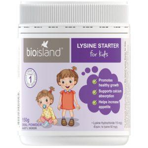 Bioisland Lysine Starter For Kids 150g