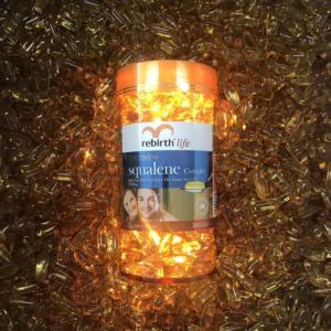 Dầu cá Platinum Omega 3 Fish Oil Rebirth 1000mg chống đau khớp, bổ tim mạch