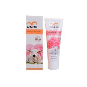 Kem Dưỡng Da Tay Nhau Thai Cừu Và Chiết Xuất Hoa Hồng Rebirth Placenta Wild Rose Hand Cream 75ml