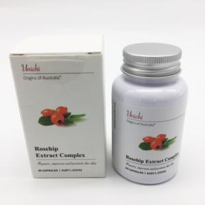 Rosechip Extract Complex Viên uống trắng da hiệu Unichi 60 Viên