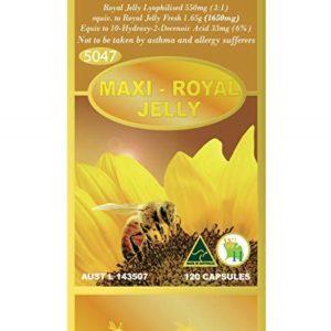 Sữa Ong Chúa Tươi Đậm Đặc Wealthy Health Maxi Royal Jelly 120 Viên