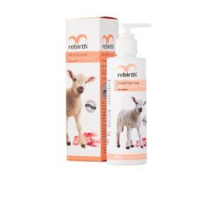 Sữa dưỡng thể nhau thai cừu & Vitamin E-Rebirth Placenta Rose Moisturising Cream 200ml