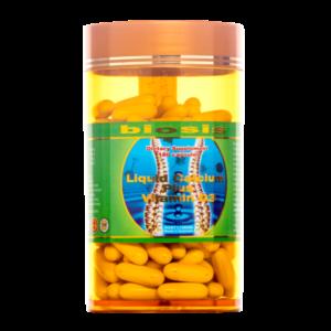 Viên Canxi và Vitamin D3 Biosis Liquid Calcium Plus Vitamin D3 180 Capsules