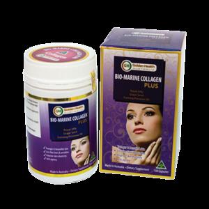 Viên Uống Đẹp-Trắng Da Golden Health Bio Marine Collagen Plus 100 Viên