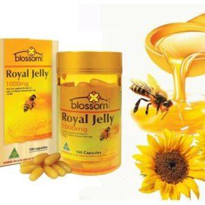 Viên Uống Bổ Dưỡng Sữa Ong Chúa-Royal Jelly 1000mg Blossom 100 Viên