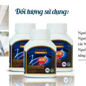 Viên Uống Bổ Khớp Glucosamine 1500mg Plus SharCartilage 100 Viên