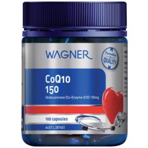 Viên Uống Bổ Tim Mạch, Giảm Stress-Wagner Coq10 150mg 100 viên