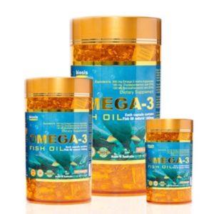 Viên Uống Dầu Cá Biosis Omega 3 - 200 Capsules