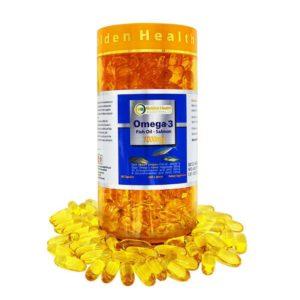 Viên Uống Dầu Cá Hồi Omega 3 Golden Health 1000 mg-365 Viên