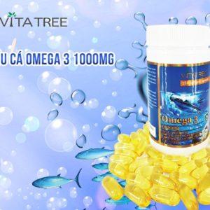 Viên Uống Dầu Cá Omega 3 1000mg - 150 Viên