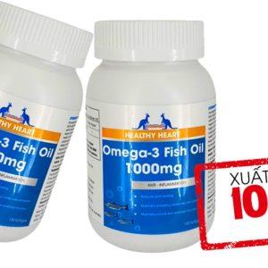Viên Uống Dầu Cá - Omega 3 Fish Oil 1000mg - 100Viên