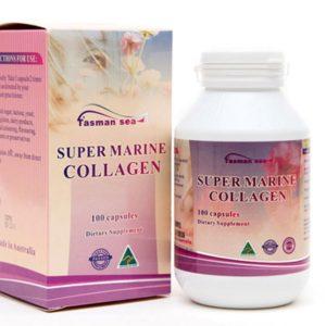 Viên Uống Giúp Căng Da Biosis Super Marine Collagen 100 Capsules