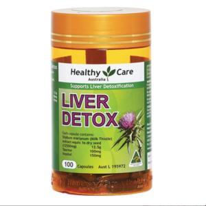 Viên Uống Giải Độc Và Hỗ Trợ Chức Năng Gan-Healthy Care Liver Detox 100 Viên