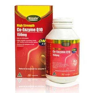 Viên Uống Hỗ Trợ Tim Mạch Biosis High Strength Co- Enzyme Q10 150mg 60 Caps