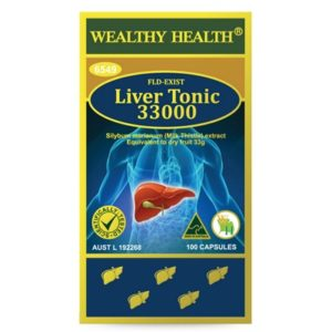 Viên bổ gan và giải độc gan Wealthy Health Liver Tonic 33000