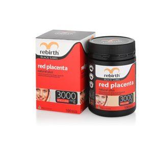Viên uống nhau thai cừuđỏRebirth Red Placenta 3000mg 100tabs 2