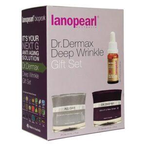 Bộ sản phẩm chống nhăn, nâng cơ da Dr. Dermax Deep Wrinkle - Lanopearl Dr. Dermax Deep Wrinkle Gift Set