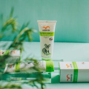 Sữa Rửa Mặt Dành Cho Da Nhờn Rebirth Tea Tree & White Tea Facial Wash with Eucalyptus & Vitamin E 100ml