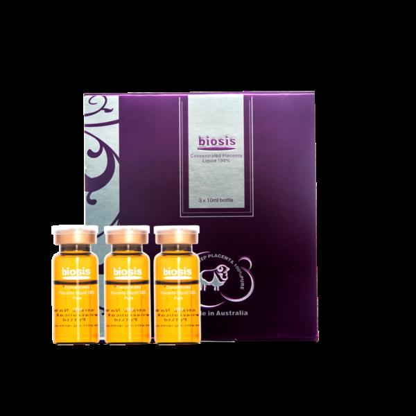 Serum Nhau Thai Cừu Biosis Concentrated Placenta Serum 3x10ml lọ