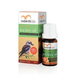 Tinh Dầu Trà Xanh-Rebirth Life Platinum Tea Tree Oil 10mL