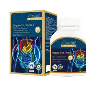 VITATREE - Viên Uống Giải Độc Mỡ Toàn Thân - Organ Fat Detox - 60 Viên