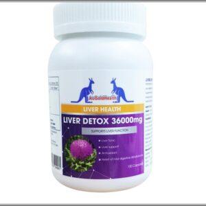Viên Uống Giúp Thải Độc Gan Của Úc - AuGoldHealth Liver Detox - 100 Viên